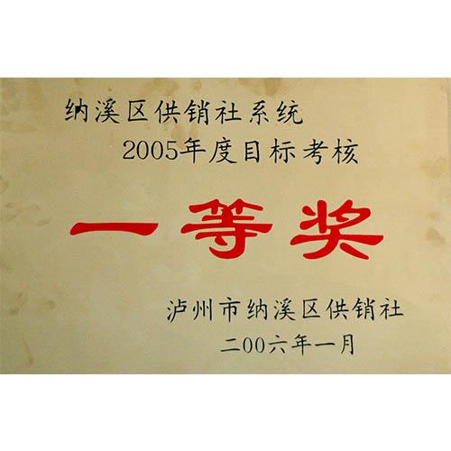 供销系统2005年度综合考核一等奖